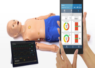 Code Blue® III Pediatric with OMNI® 2 Advanced Life Support Training Simulator