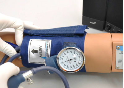 Blood Pressure Reading Training System with Speakers S415.100